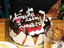 誕生日会ケーキ